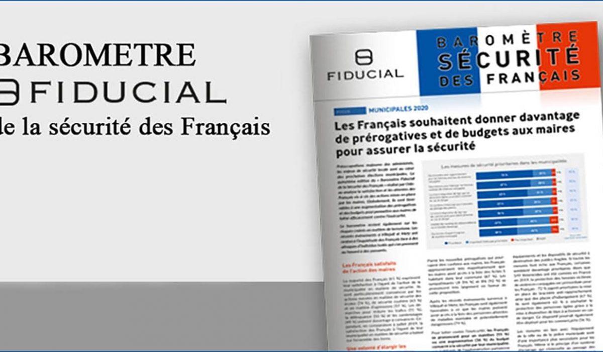 Baromètre Fiducial - Sécurité des français